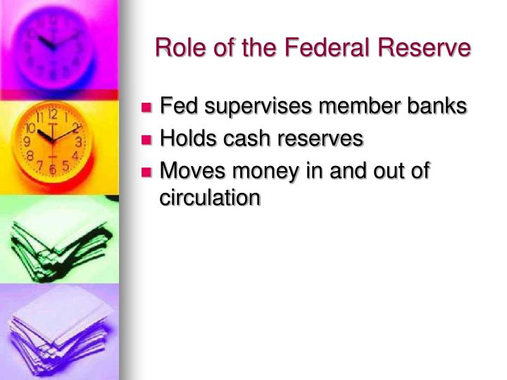 Role of the Federal Reserve