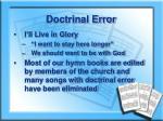 doctrinal error1