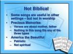 not biblical1