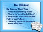 not biblical2