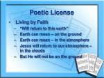 poetic license2