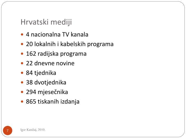 Hrvatski mediji