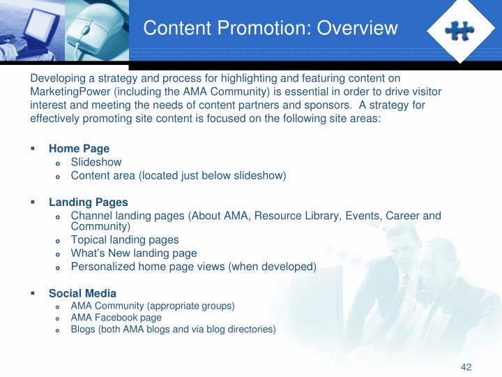 Content Promotion: Overview