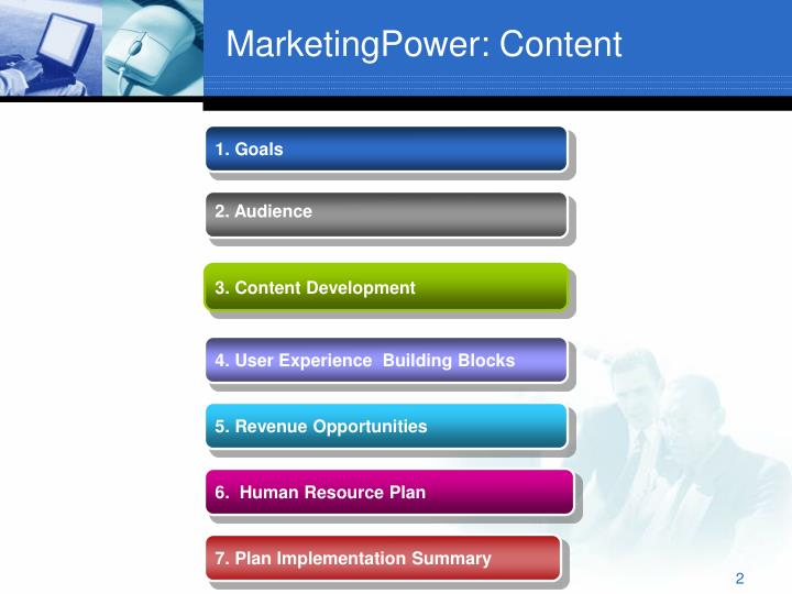 MarketingPower: Content