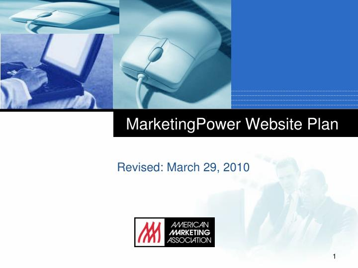 Marketingpower website plan