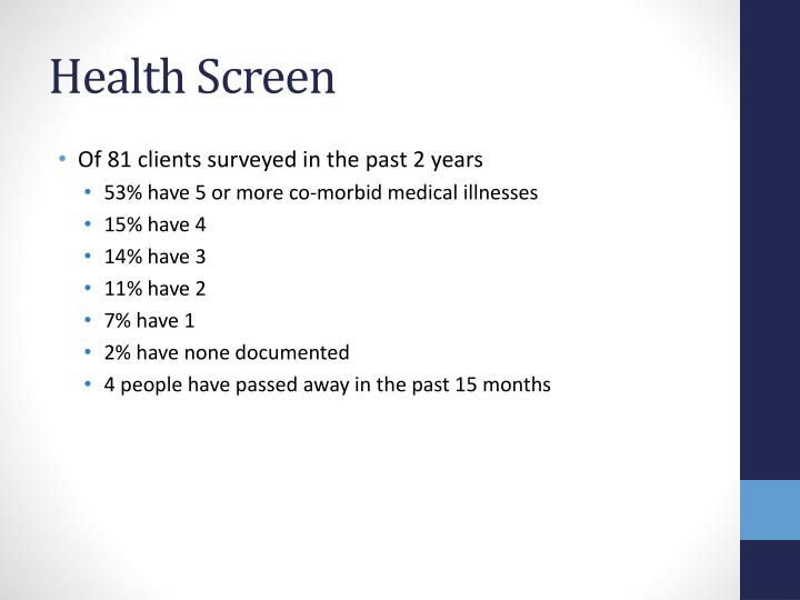 Health Screen