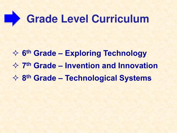 Grade Level Curriculum