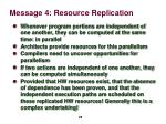 message 4 resource replication3