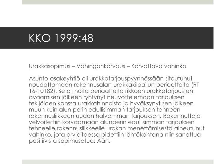 KKO 1999:48