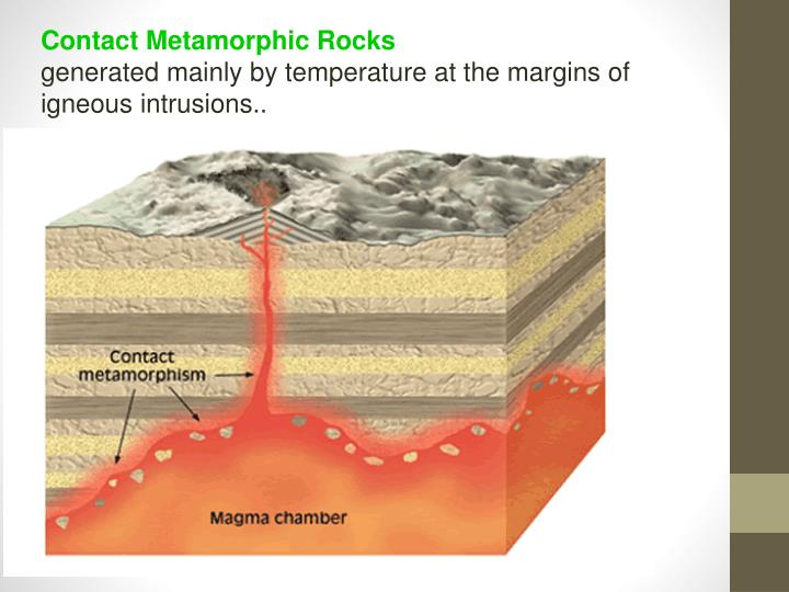 Contact Metamorphic Rocks