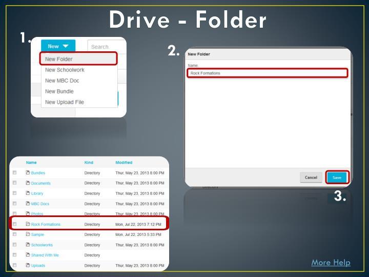 Drive - Folder
