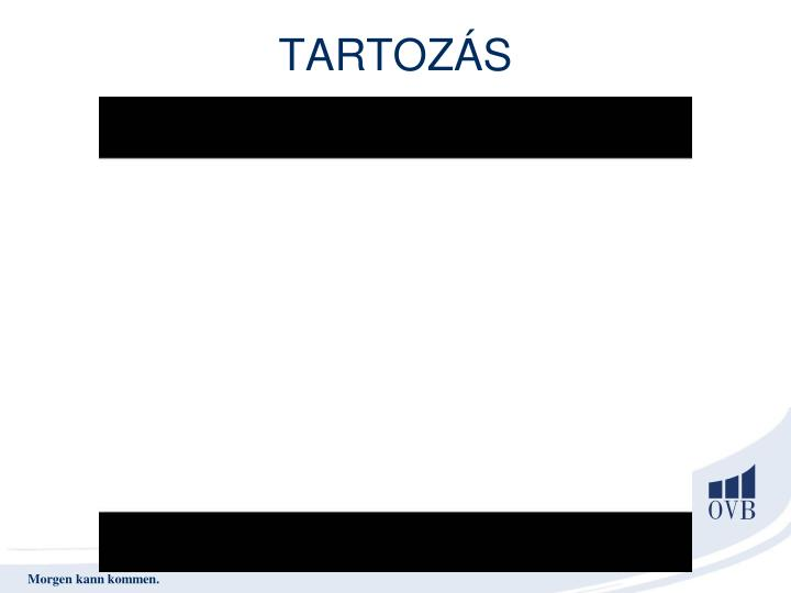 TARTOZÁS