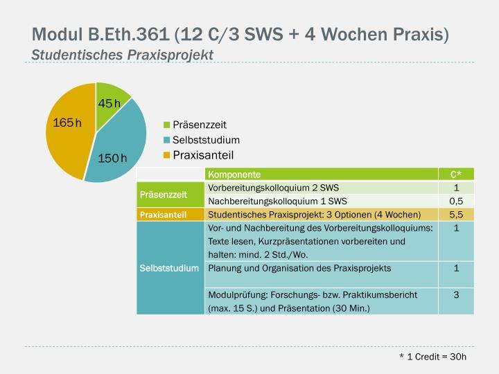 Modul B.Eth.361 (