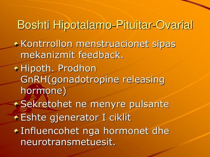Boshti Hipotalamo-Pituitar-Ovarial