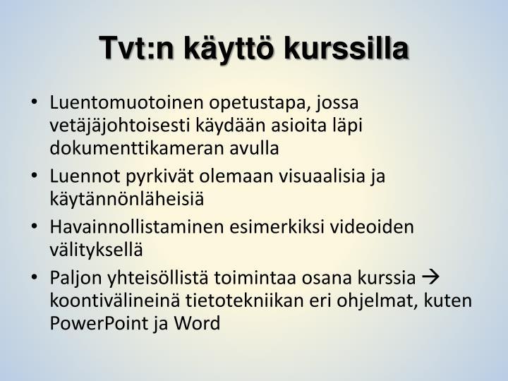 Tvt:n