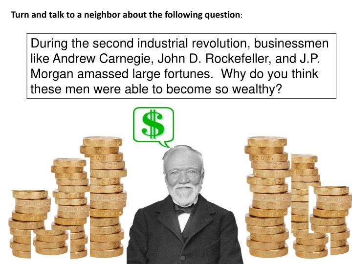 Turn and talk to a neighbor about the following question