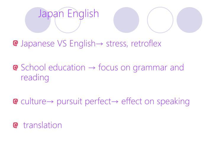 Japan English