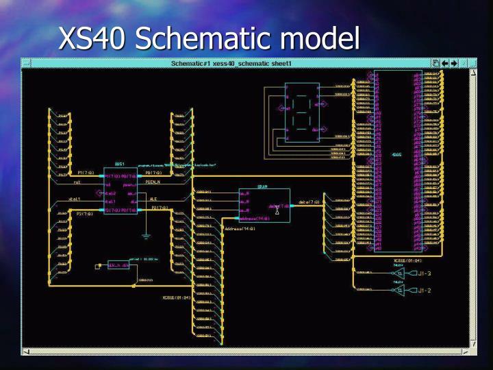 XS40 Schematic model