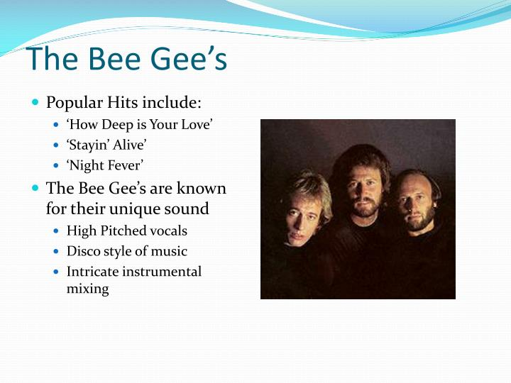 The Bee Gee's
