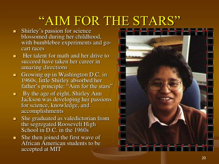 """""""AIM FOR THE STARS"""""""