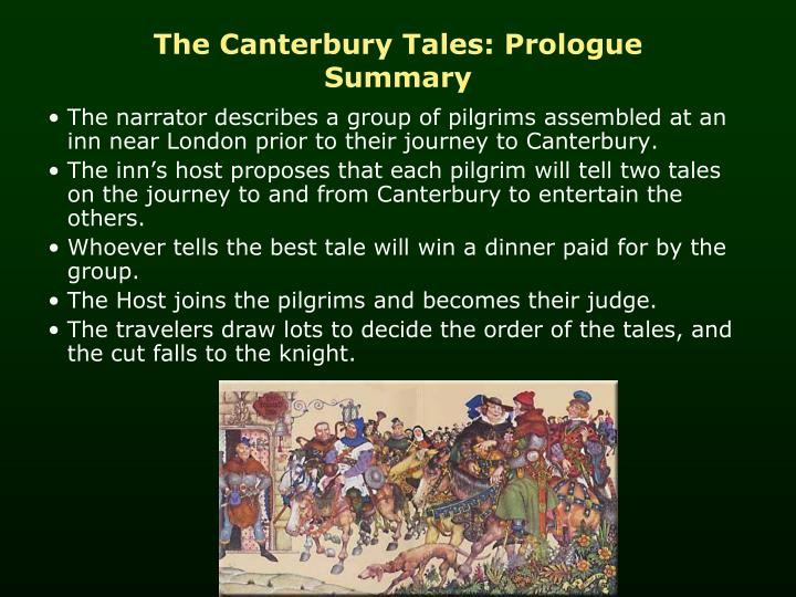a journey of pilgrimage in the canterbury tales by geoffrey chaucer And find homework help for other the canterbury tales questions at enotes   the pilgrims are on a pilgrimage: this is a journey to a holy place during  medieval times (chaucer's time) people often would visit shrines or even  of the  pilgrims from geoffrey chaucer's general prologue to the canterbury tales  would you.