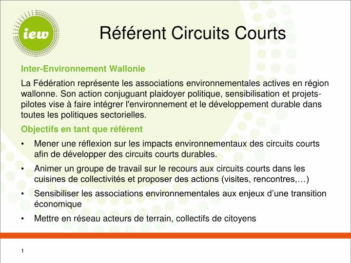 R f rent circuits courts