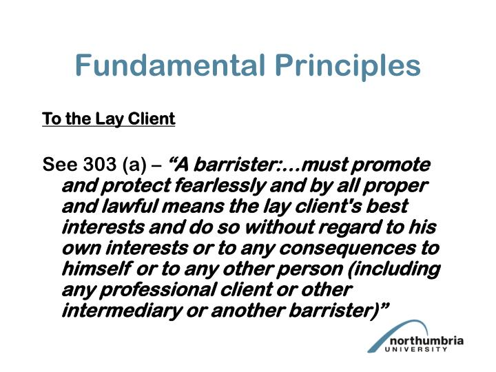 Fundamental Principles