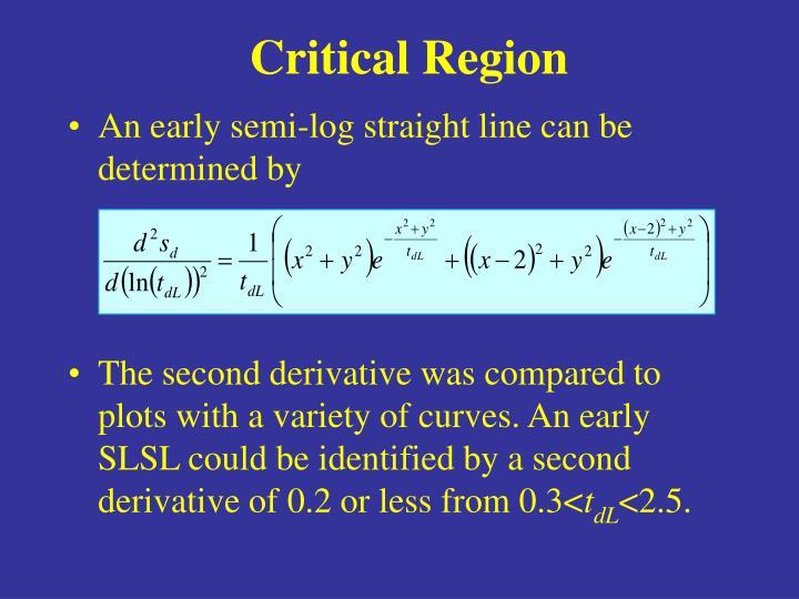 Critical Region