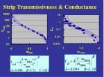 strip transmissivness conductance1