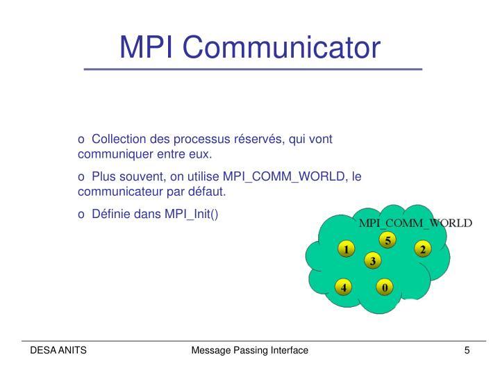 MPI Communicator