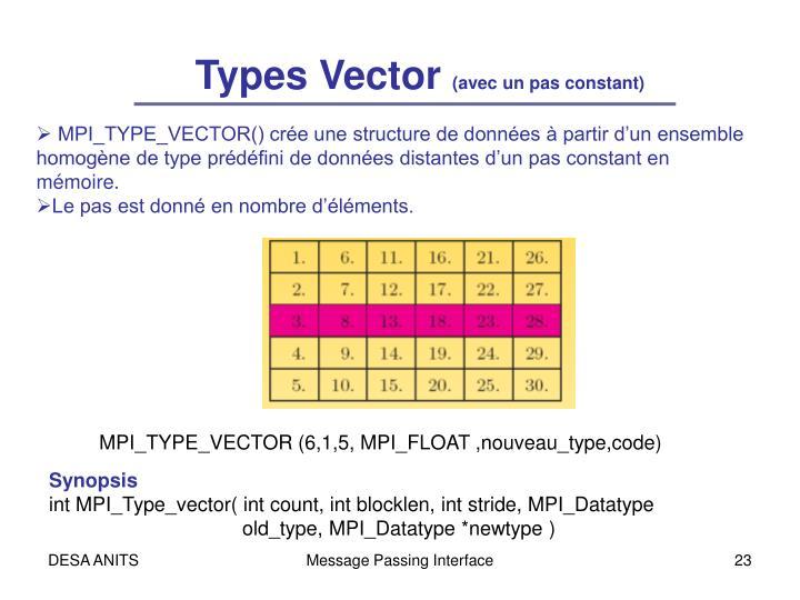 Types Vector