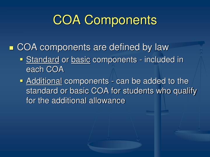 COA Components