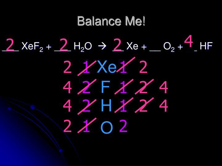 Balance Me!