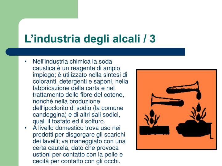 L'industria degli alcali / 3