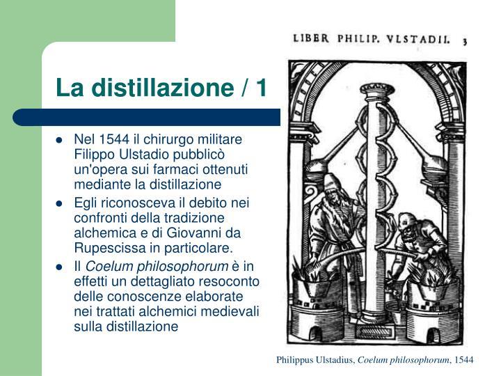 La distillazione / 1