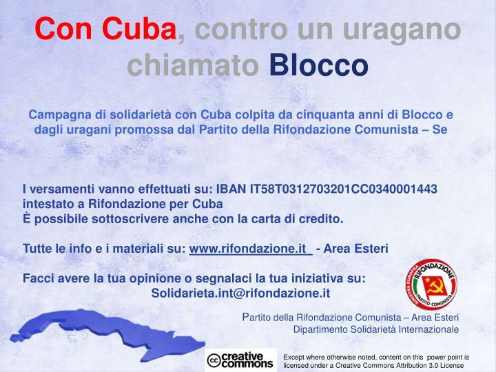 Con Cuba