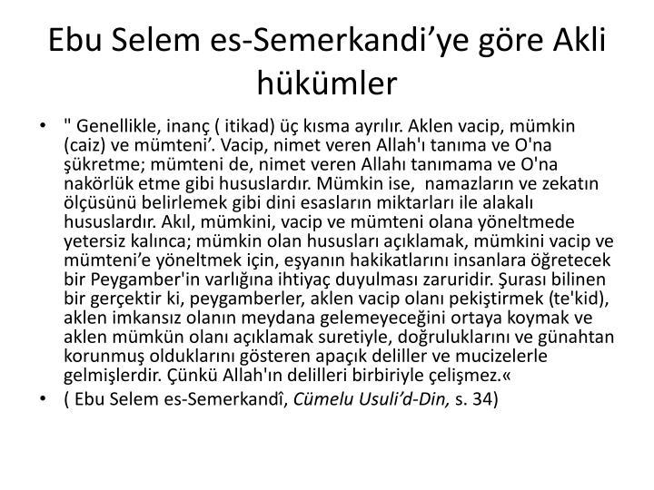 Ebu Selem es-