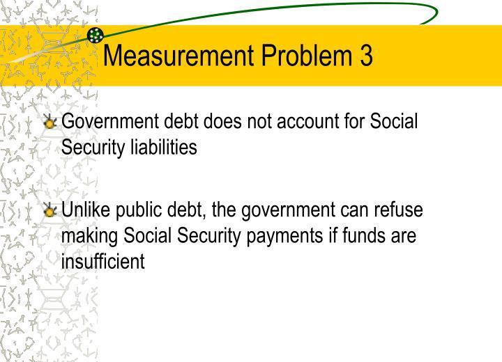 Measurement Problem 3