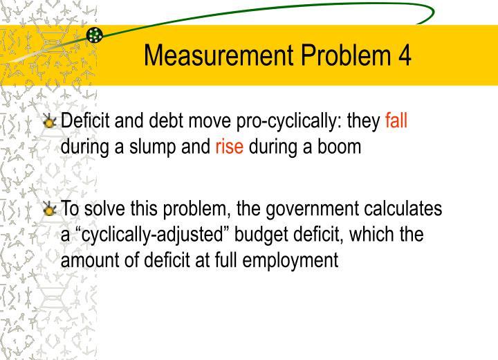 Measurement Problem 4