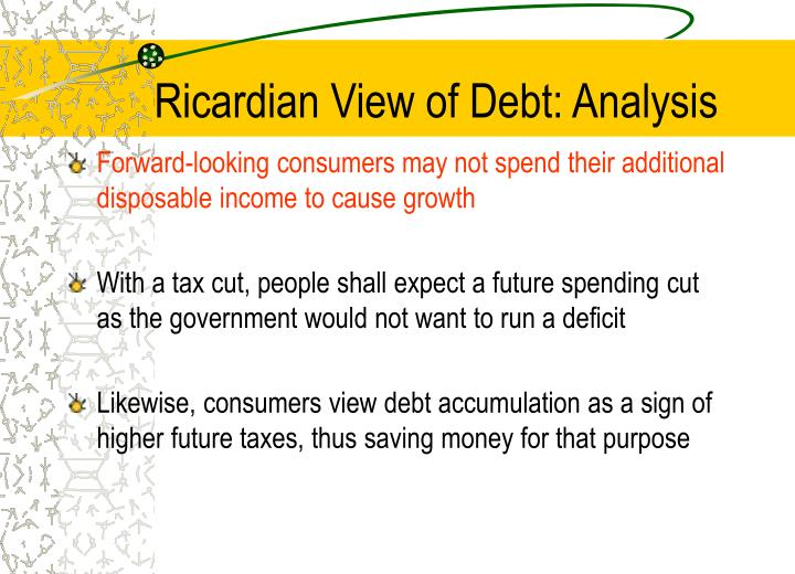 Ricardian View of Debt: Analysis