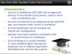 inter vivos gifts qualified tuition plan accounts