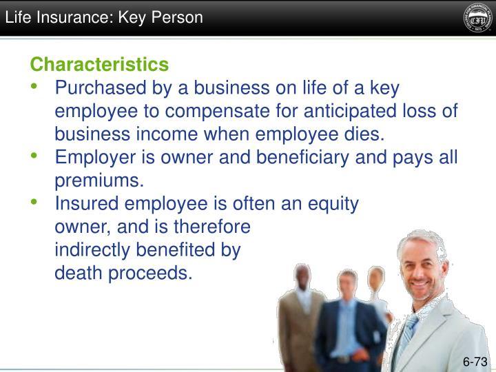 Life Insurance: Key Person