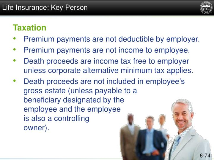 Life Insurance: Key Person