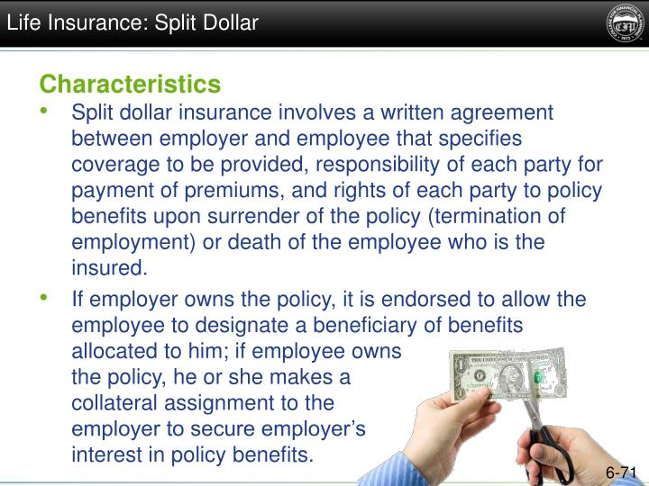 Life Insurance: Split Dollar
