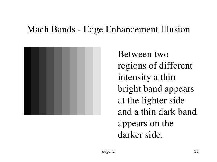 Mach Bands - Edge Enhancement Illusion