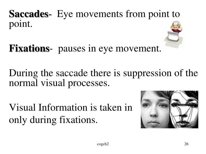Saccades
