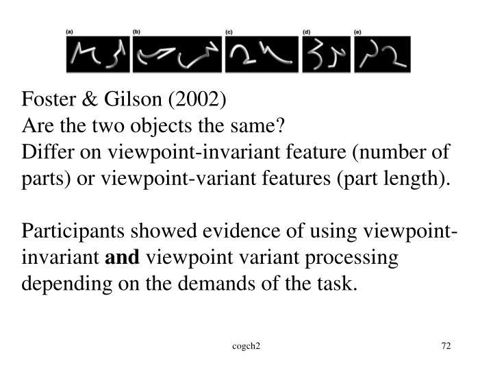 Foster & Gilson (2002)