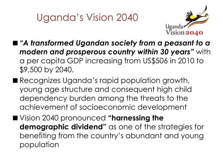 Uganda's Vision 2040
