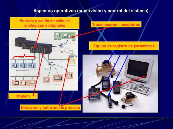 Aspectos operativos (supervisión y control del sistema)