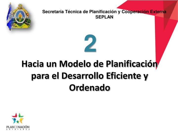 Secretaría Técnica de Planificación y Cooperación Externa